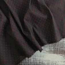 Рубашечная ткань на отрез Элиф LV-3 о/м на сером фоне