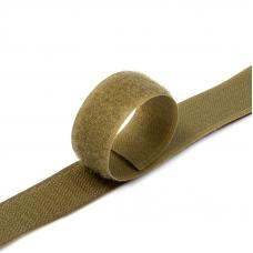 Лента-липучка 25 мм 1 м цвет F297 (287) кор-серый