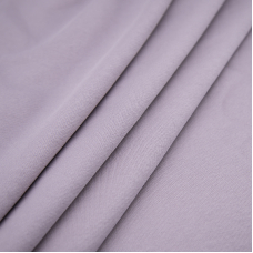 Ткань на отрез футер 3-х нитка диагональный цвет лила