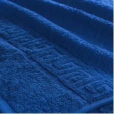 Полотенце махровое Туркменистан 40/65 см цвет синий