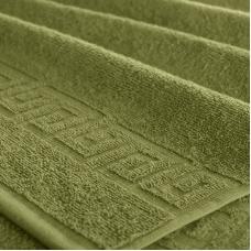 Полотенце махровое Туркменистан 40/65 см цвет оливковый