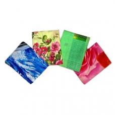 Наволочка бязь набивная 100 гр/м2 упаковка 2 шт 80/80 расцветки в ассортименте