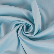 Ткань на отрез сатин гладкокрашеный 250 см 50S 628 голубой