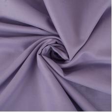 Ткань на отрез сатин гладкокрашеный 250 см 50S 5314 сирень