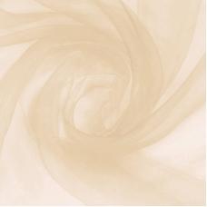 Ткань на отрез Вуаль 280 см цвет 23 бежевый