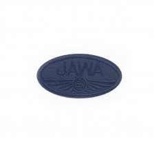 Термоаппликация Jawa синий 6,5*3,5см
