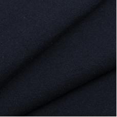 Ткань на отрез футер петля с лайкрой Темно-синий