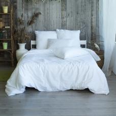 Пододеяльник из страйп-сатина полоса 1х1 120 гр/м2 001 цвет белый, 2-x спальный