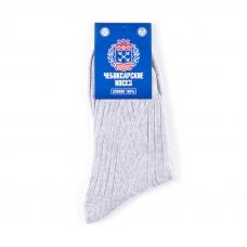 Мужские носки ЧБ-1/4 Чебоксарские цвет светло-серый размер 27