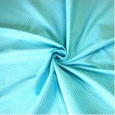 Бязь плательная 150 см 1590/7 цвет бирюза