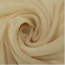 Мерный лоскут вуаль 280 см цвет 23 бежевый от 1 м
