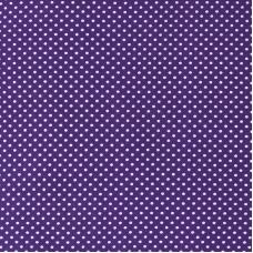 Ткань на отрез бязь плательная 150 см 1590/12 цвет фиолетовый