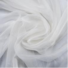 Мерный лоскут вуаль 280 см цвет 15 молочный от 1 м