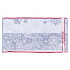 Полотенце махровое 4694 Снежный вальс-1 70/140 см