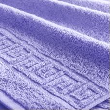 Полотенце махровое Туркменистан 40/65 см цвет Сиреневый