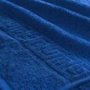 Полотенце махровое Туркменистан 70/135 см цвет Темно-синий