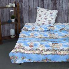 Детское постельное белье из бязи 1.5 сп 4220/1  Маленькие ангелы .