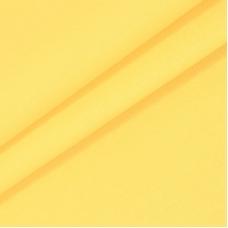 Бязь гладкокрашеная 120гр/м2 220 см на отрез цвет лимонный крем