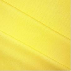 Ткань на отрез полулен 150 см 70017 цвет желтый